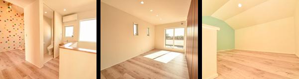 高気密高断熱住宅のため、空調はリビングと2階のエアコン2台で家中すべてをまかなえます